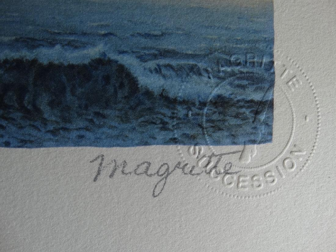 Rene Magritte Composition, COA - 2