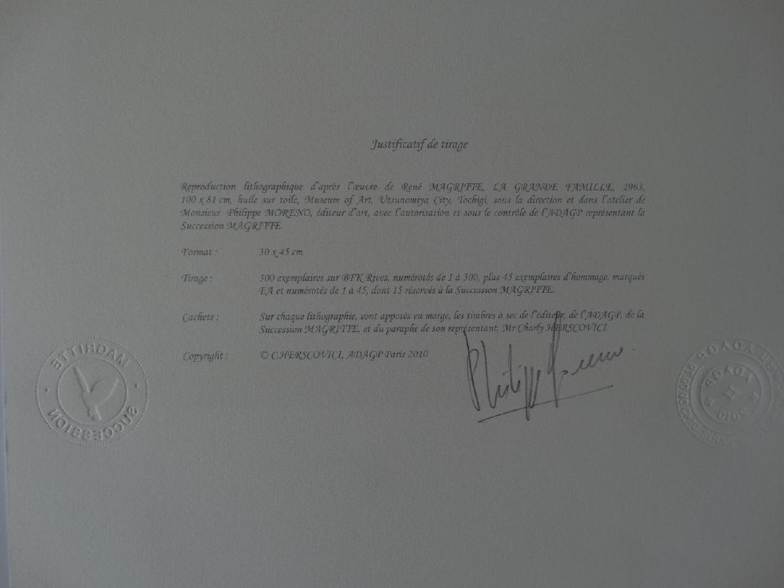 Rene Magritte Composition, COA - 4