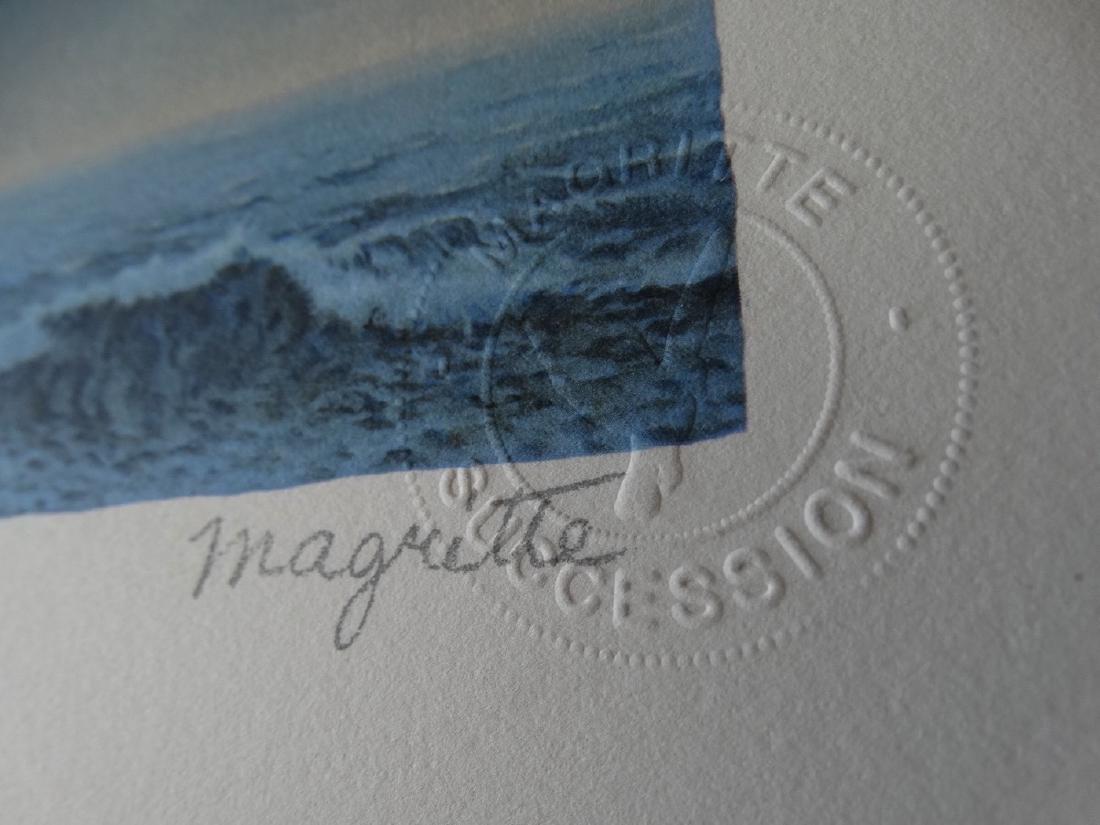 Rene Magritte Composition, COA - 7