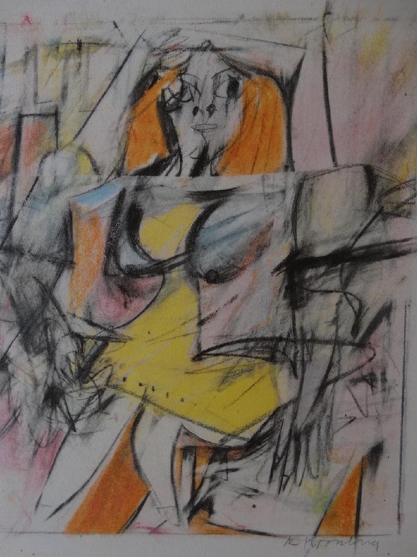 Willem de Kooning - Untitled, 1985+Justification