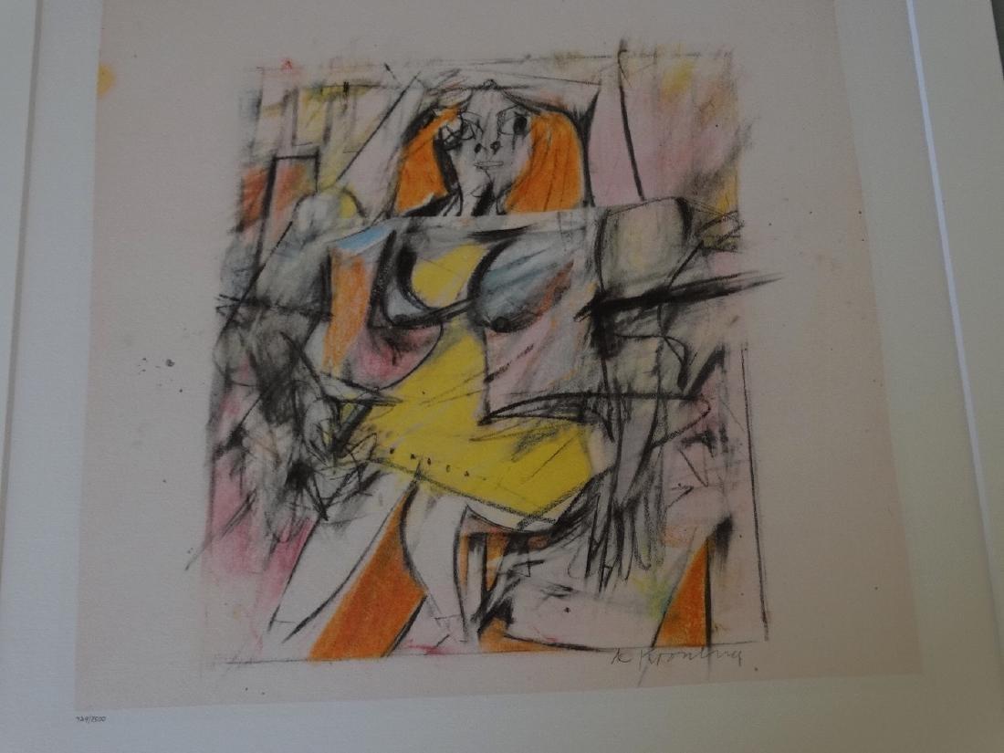 Willem de Kooning - Untitled, 1985+Justification - 3