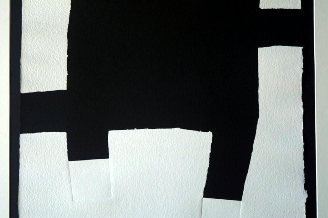 Eduardo Chillida, silkscreen signed by hand 72 x 51 cm - 3