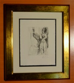 Pablo Picasso etching