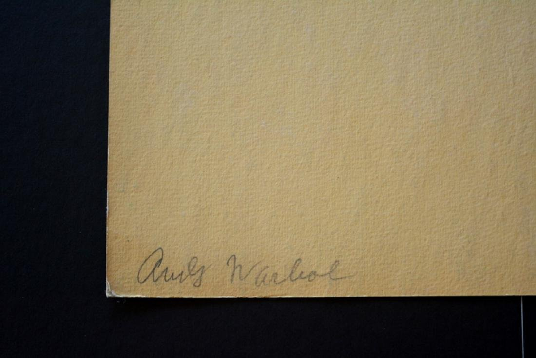 Andy Warhol, Marilyn 1967, hand signed - 2