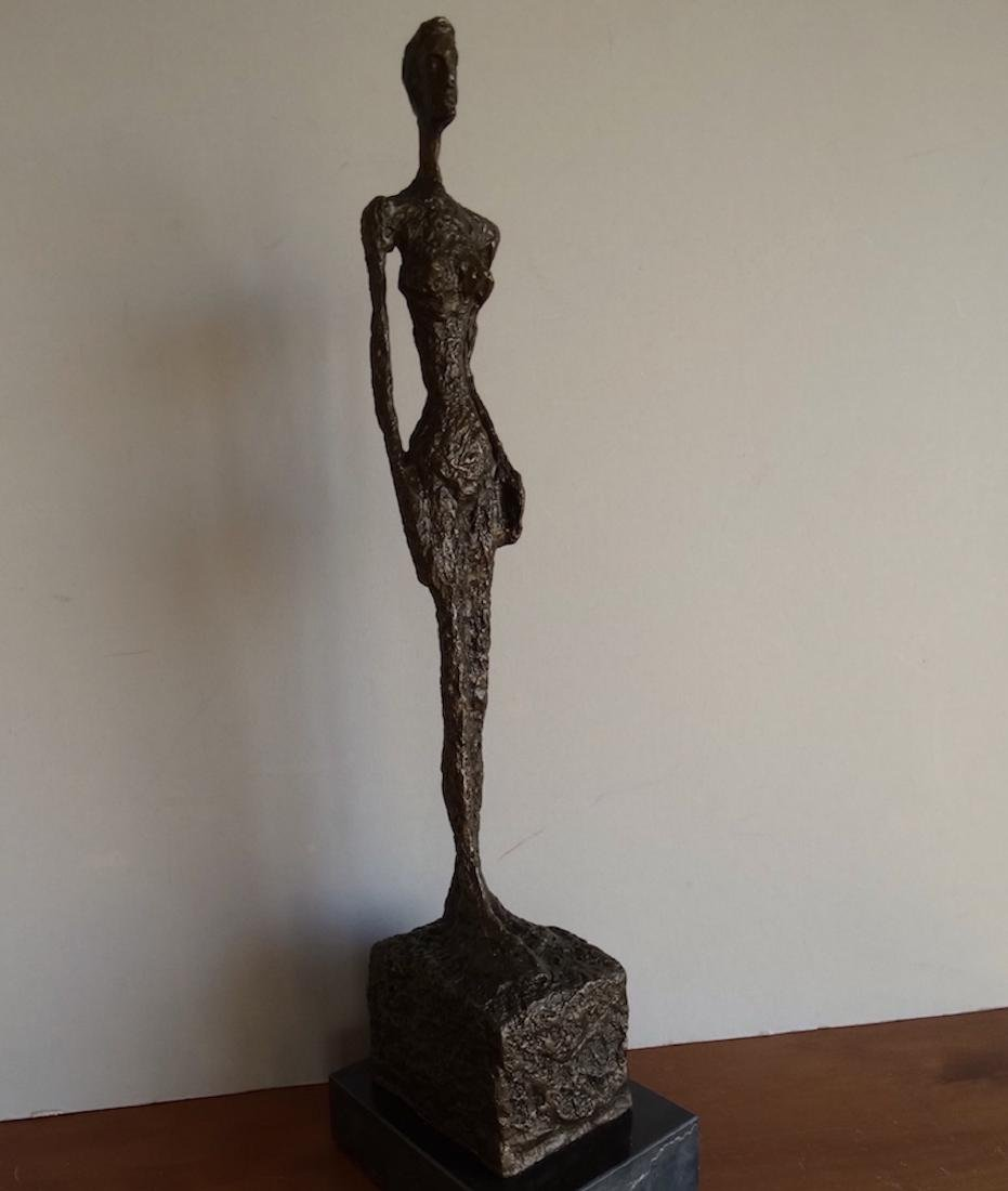 Alberto Giacometti, signed bronze sculpture