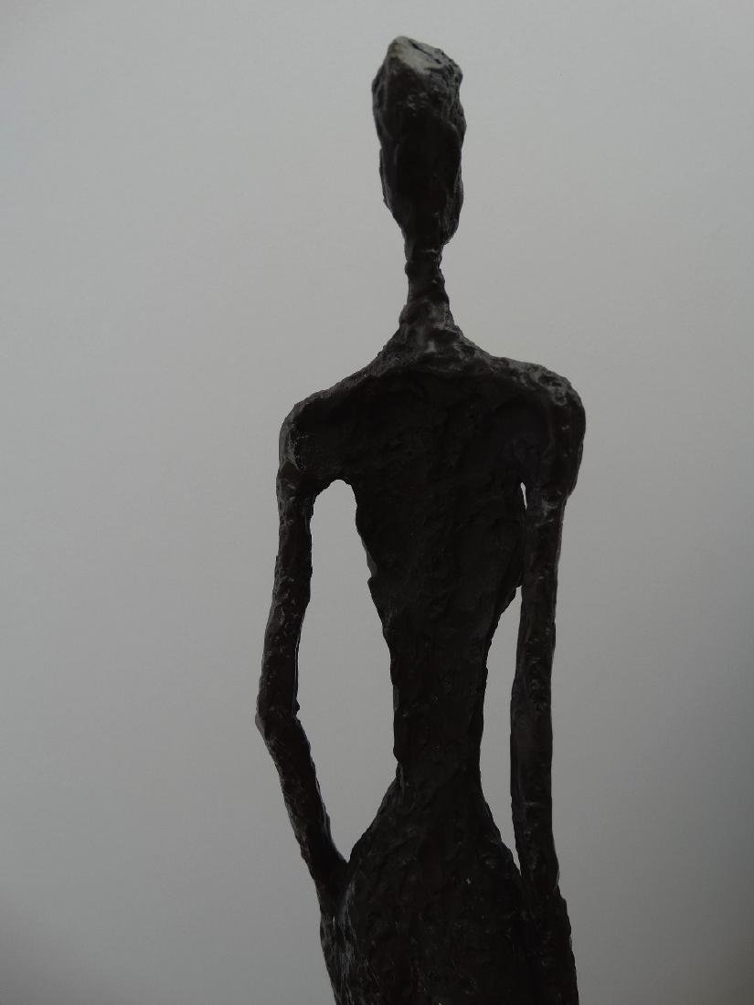 Alberto Giacometti, signed bronze sculpture - 5