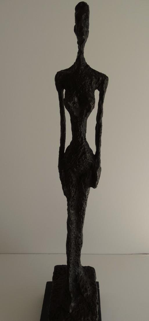 Alberto Giacometti, signed bronze sculpture - 6