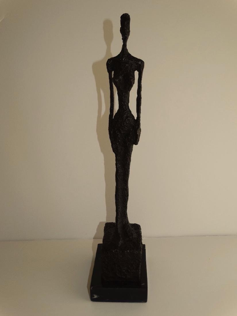 Alberto Giacometti, signed bronze sculpture - 8