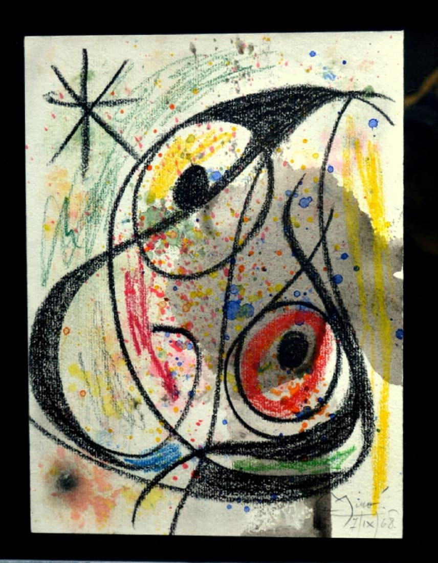 Joan Miro, drawing - 2