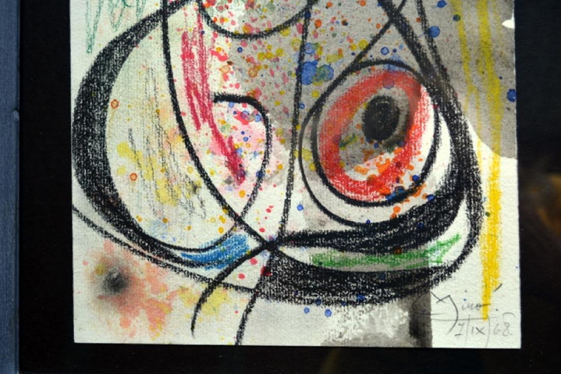 Joan Miro, drawing - 3