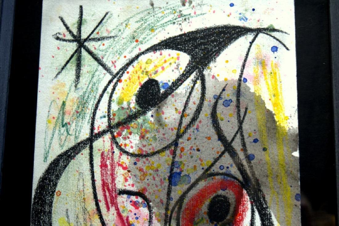 Joan Miro, drawing - 4