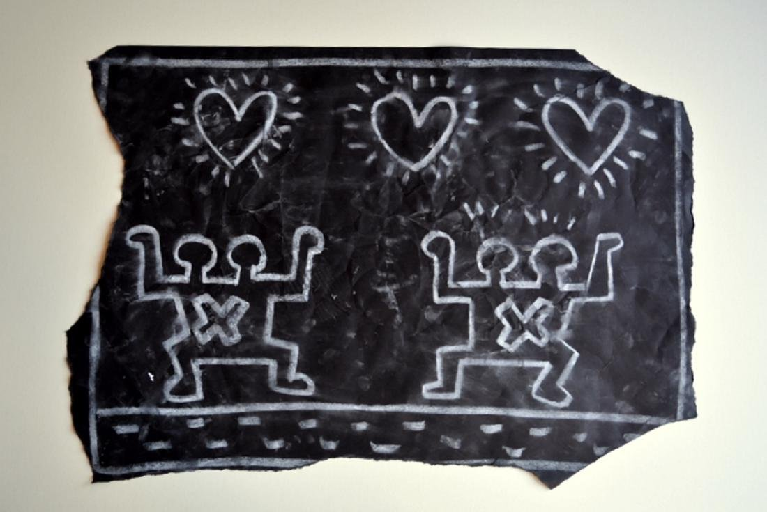 Keith Haring, drawing on paper.