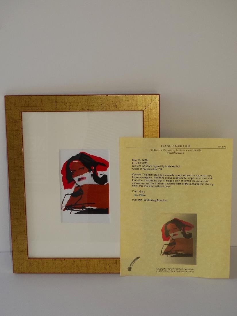 Andy Warhol hand signed- Ladies and Gentlemen