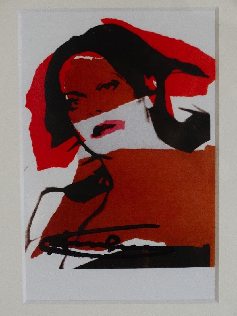 Andy Warhol hand signed- Ladies and Gentlemen - 5