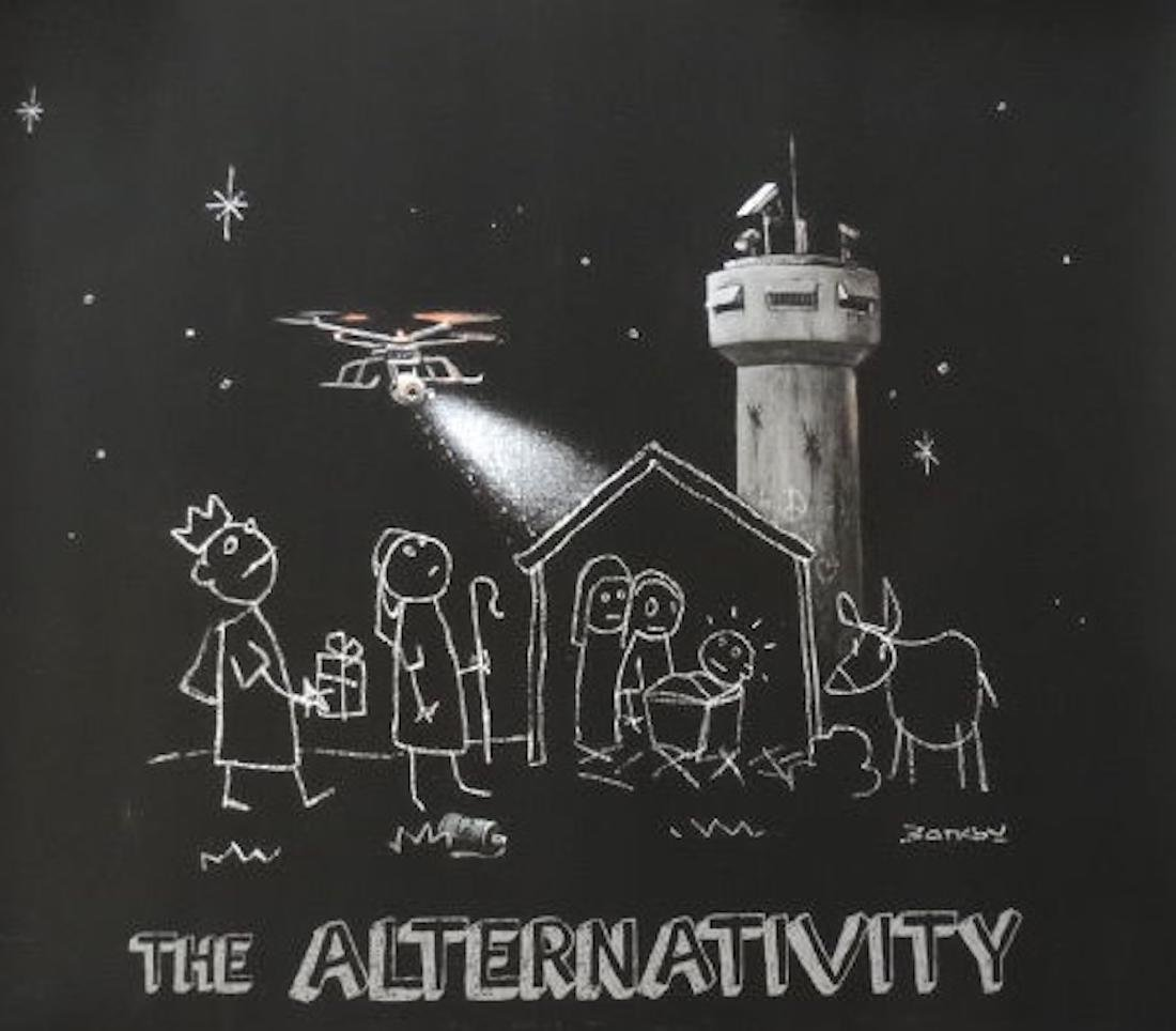Banksy, Bethlehem - Alternativity