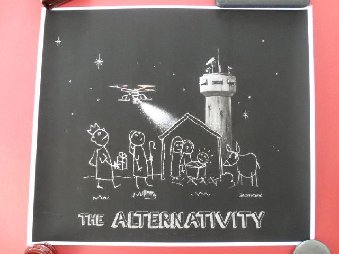 Banksy, Bethlehem - Alternativity - 3