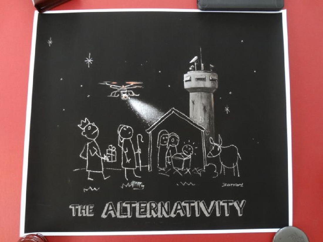 Banksy, Bethlehem - Alternativity - 5