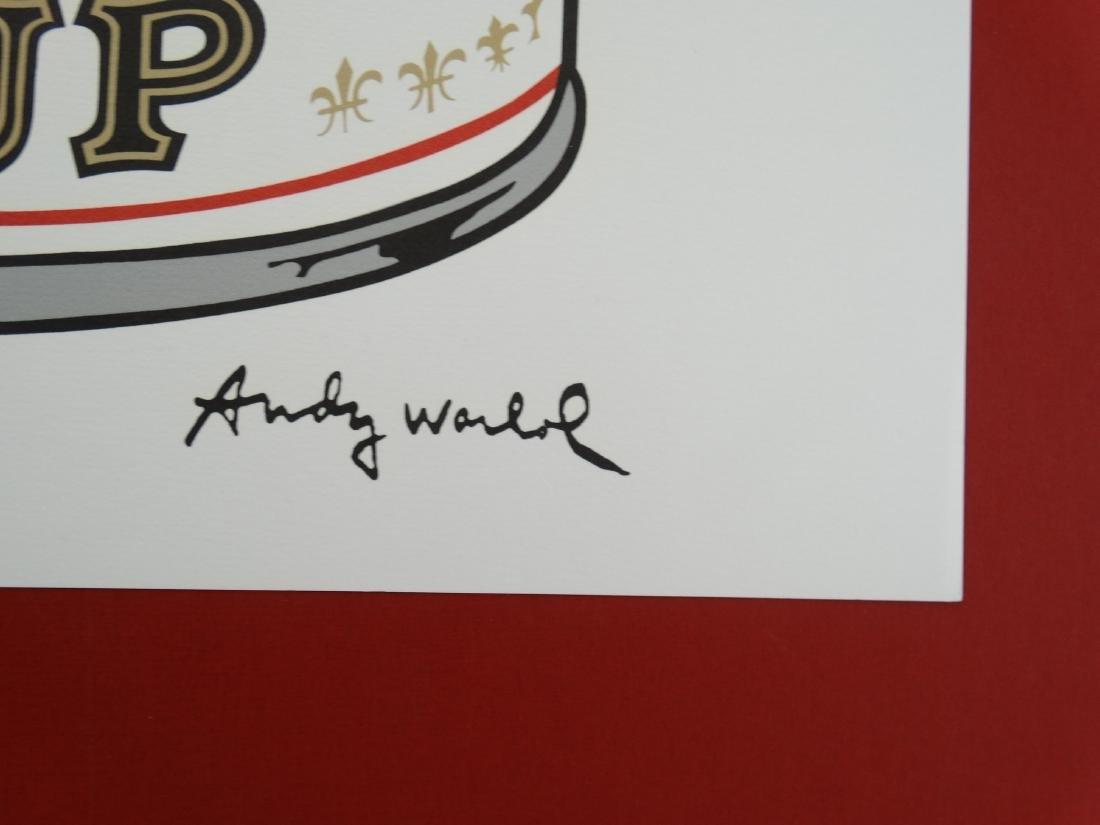ANDY WARHOL CAMPBELLS TOMATO - 3
