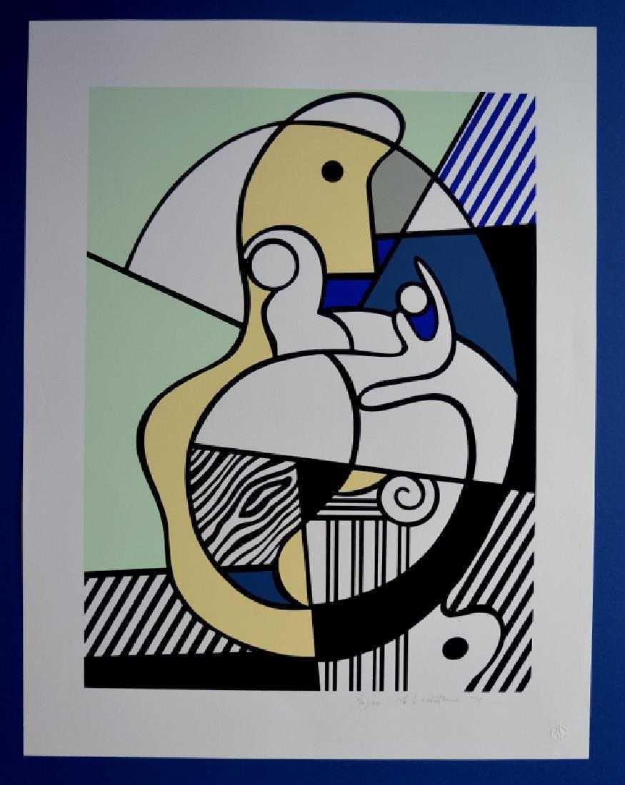 Roy Lichtenstein ,To Max Ernest