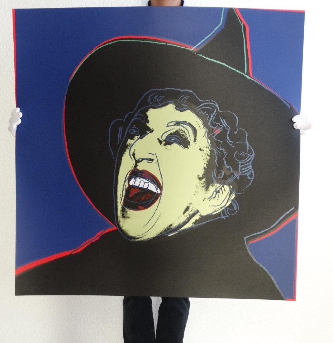 Andy Warhol, Witch Screenprint - 7