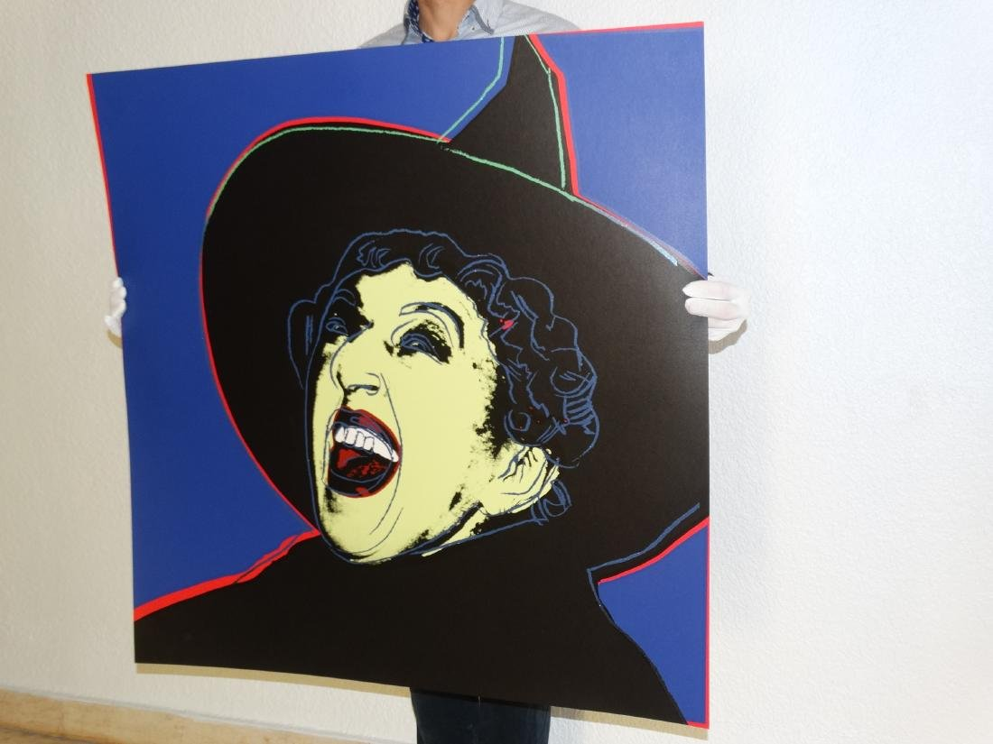 Andy Warhol, Witch Screenprint - 8