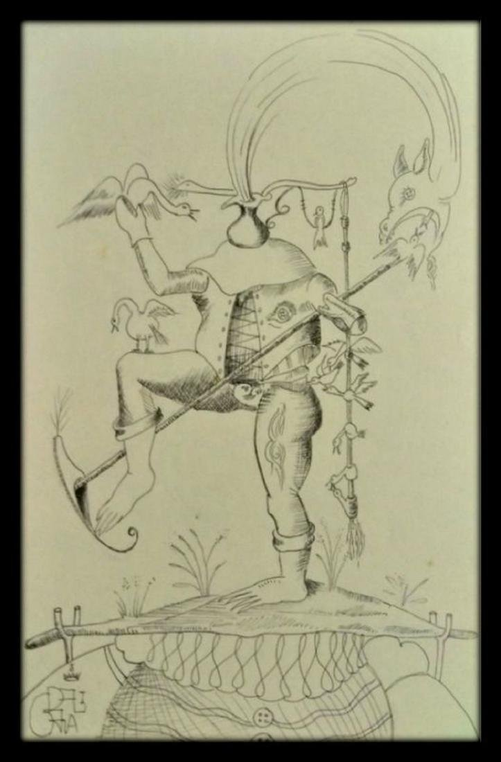 SaIvador Dali , Drawing