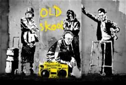 Banksy Poster Wanddekoration Plakat Grafik 70 x 50 cm