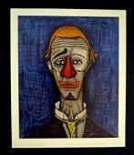 Bernard BUFFET - te de clown, Collection Maurice