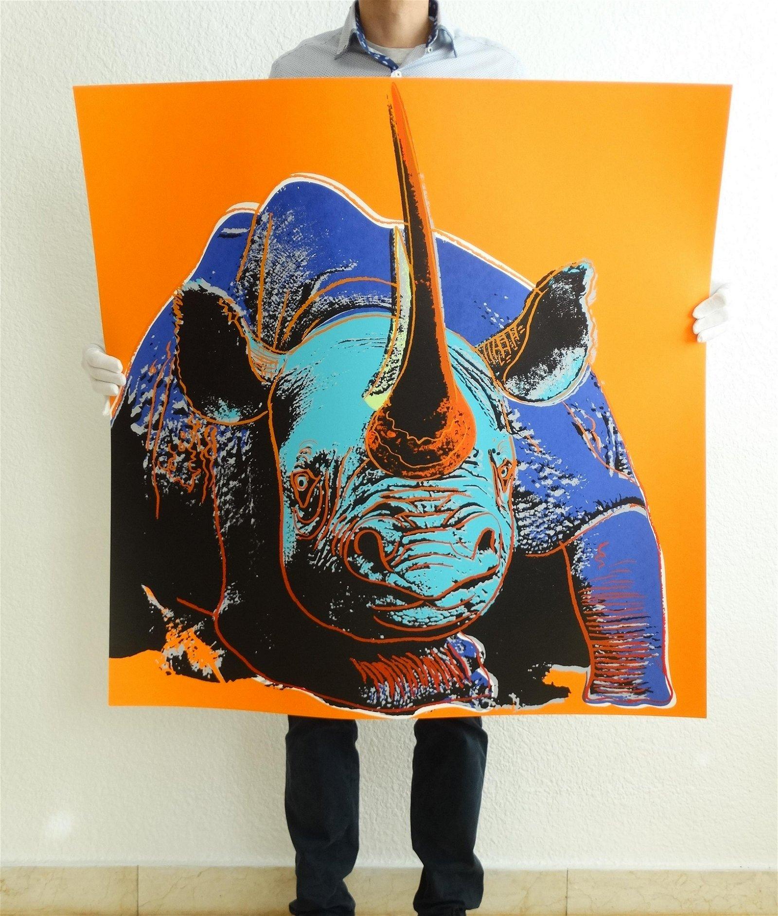 Andy Warhol Rhino