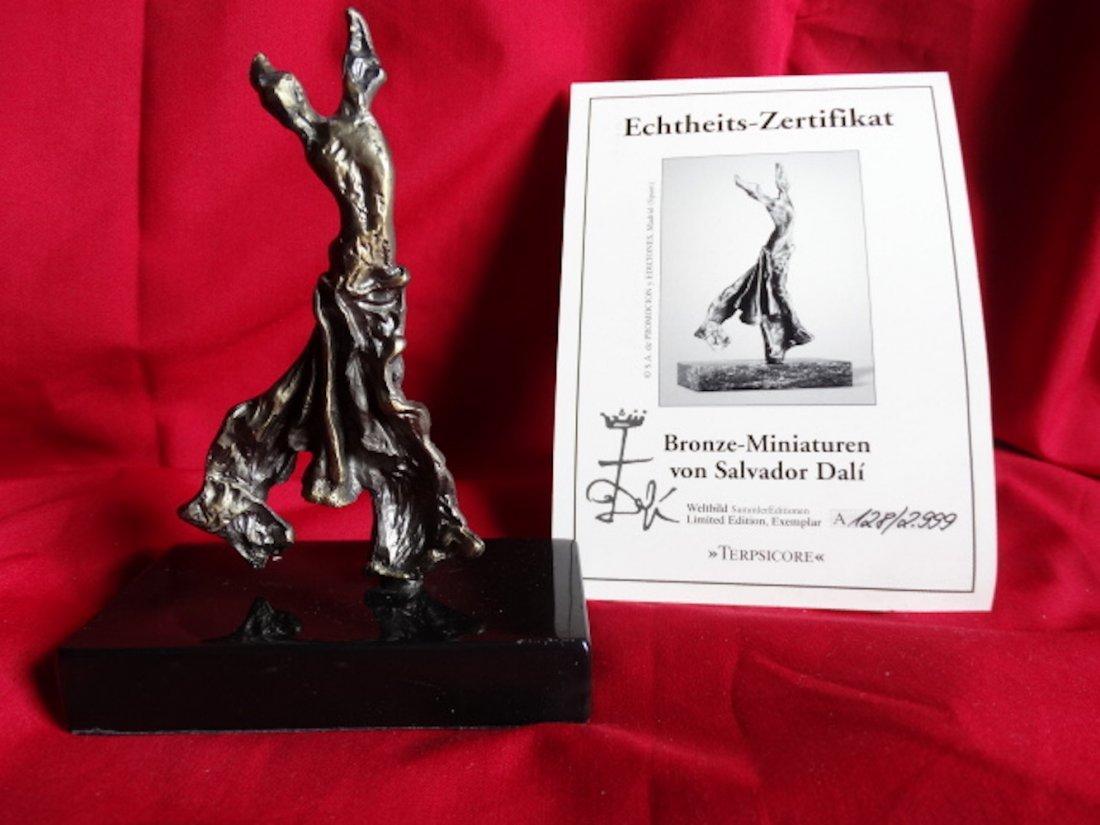 Salvador Dali- Certificate of Authenticity - sculpture
