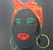 Andy Warhol, Myths Portfolio Mamma1981 Silkscreen