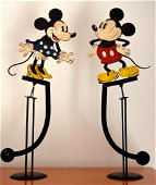 Walt Disney original Orlando sculptures 1950, 56 x 18