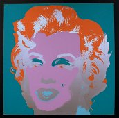 Andy Warhol, Marilyn 1967, hand signed
