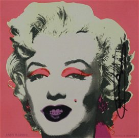 Andy Warhol - Marilyn, hand signed