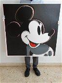 Andy Warhol, Mickey Mouse, diamond dust