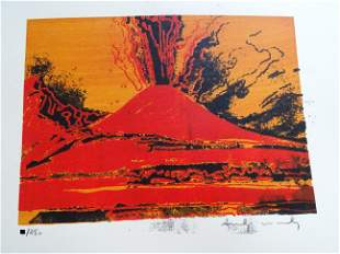 Andy Warhol, hand signed