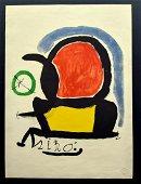 Joan Miro - Tapestry of Tarragona series lithography