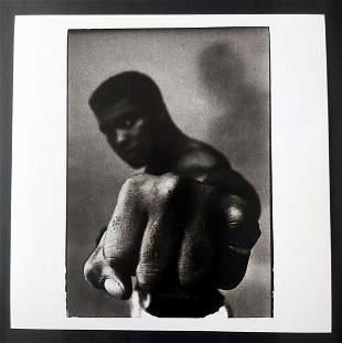 Thomas Hoepker (1936-) - Muhammad Ali, Left Fist