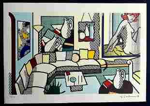Roy Lichtenstein, Original Lithograph Limited Edition