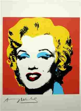 Andy Warhol, Pop Art Limited edition silkscreen –