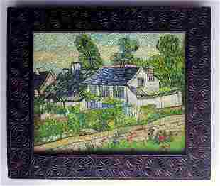Vincent van Gogh, ATTRIBUTED oil on canvas handmade