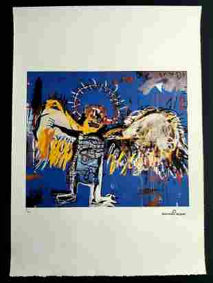 Jean-Michel Basquiat, Lithograph 250 ex. 50x70 cm
