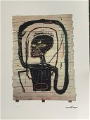 Jean Michel Basquiat , Lithographie Signed , numbered ,