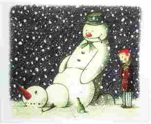 Banksy - Rude Snowman