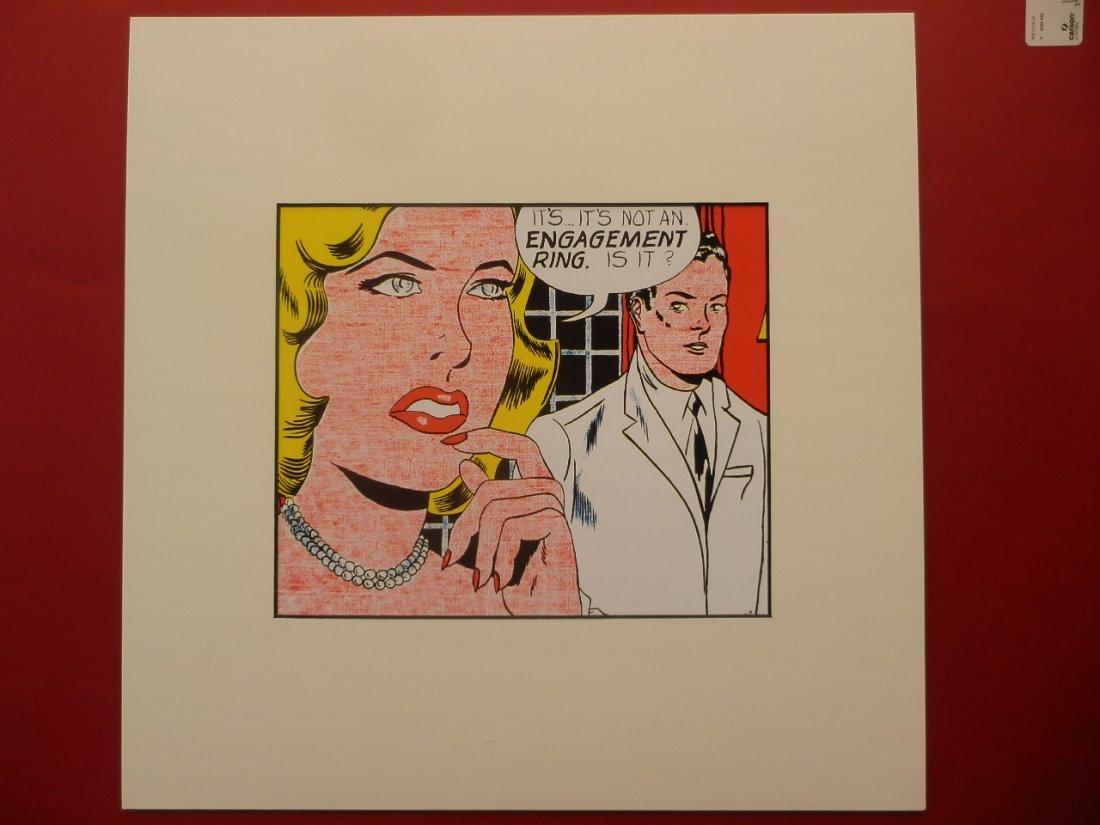 ROY LICHTENSTEIN SERIGRAPHY 1987 -ART BASEL