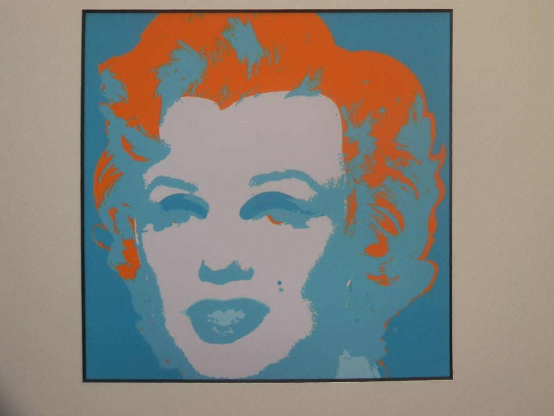 ANDY WARHOL SERIGRAPHY 1987 Marilyn Monroe