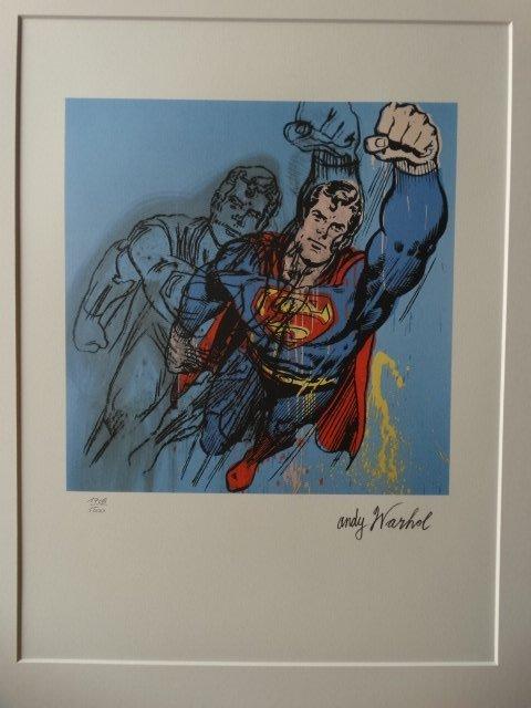 ANDY WARHOL, SUPERMAN
