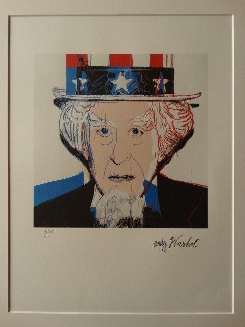 ANDY WARHOL,  AMERICA