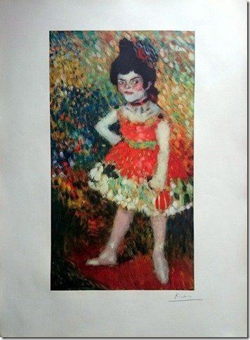 PABLO PICASSO- The Dwarf Dancer,1966