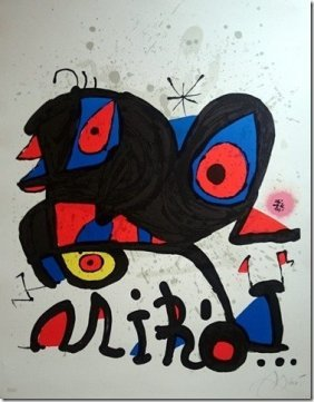 Joan Miro, Lithograph, Hand Signed